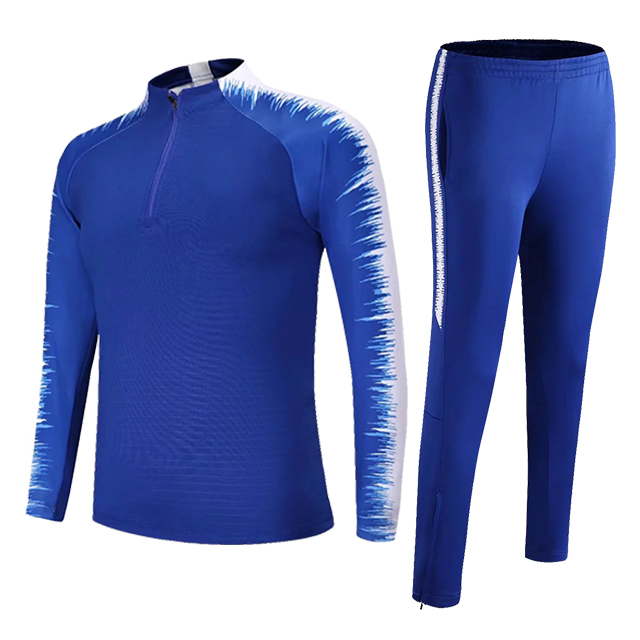 Kids Adults Soccer Jerseys Sets Survetement Football Kits Men Child Running Jackets Sports Training Tracksuit Uniforms Suit 8