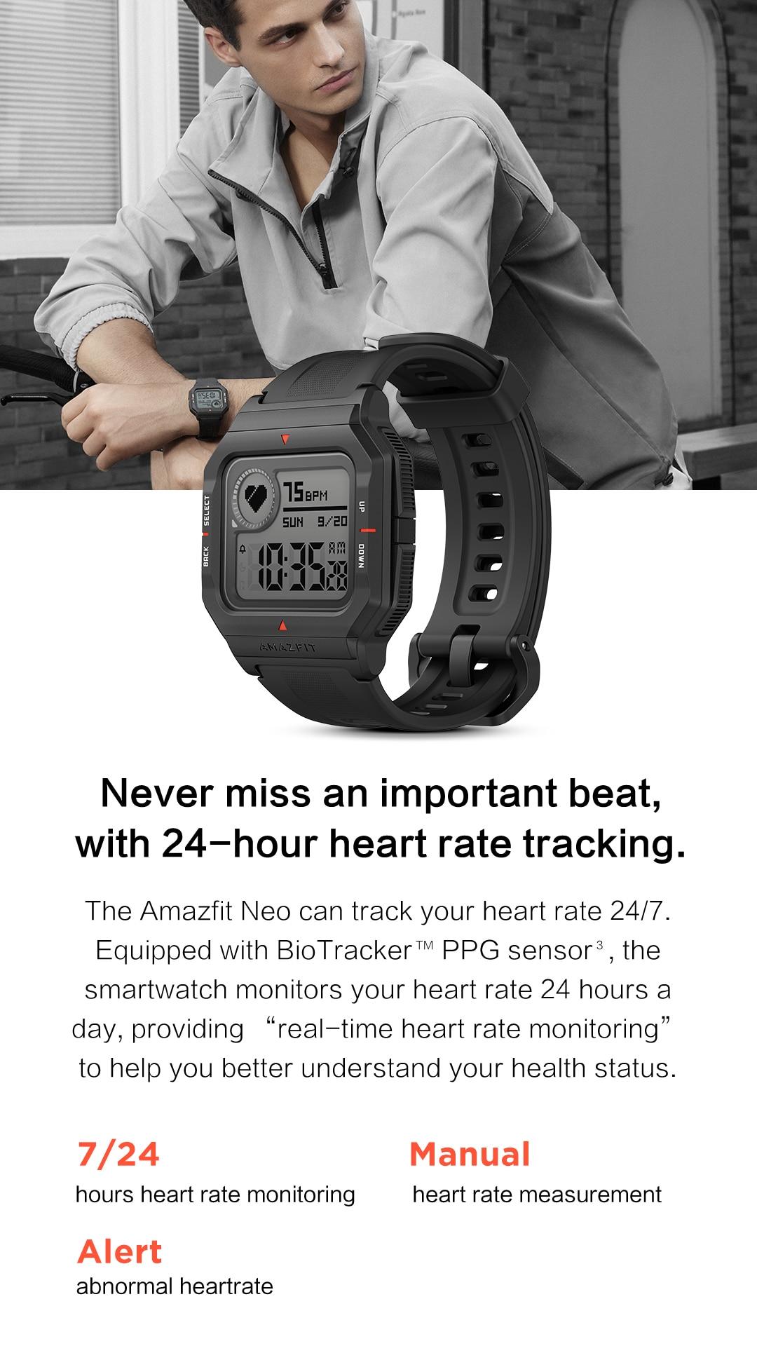 Amazfit Neo Bluetooth Smartwatch 3