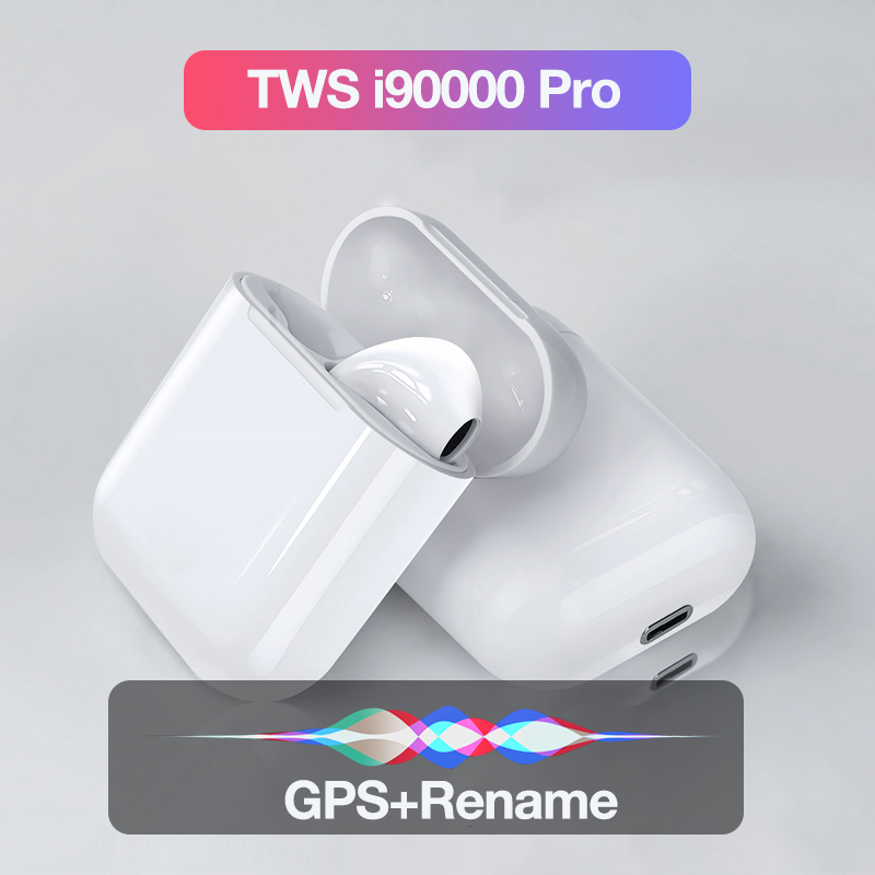 I90000 Pro TWS Wireless Bluetooth Earphone Stereo Wireless Headphones Sports Headset With Charging Box For IPhone Xiaomi Huawei