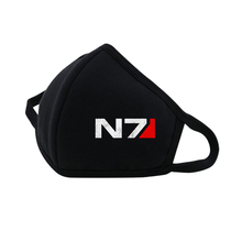 Game Mass Effect Mouth Face Mask Dustproof Breathable Fashion Accessories Protective Cover Masks