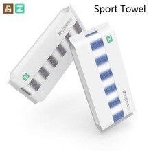 Youpin ZSH ręcznik sportowy 30cm x 110cm 100% bawełna wchłanianie ręcznik wody dla rodziny Fitness joga wspinaczka ćwiczenia na zewnątrz Towe D5
