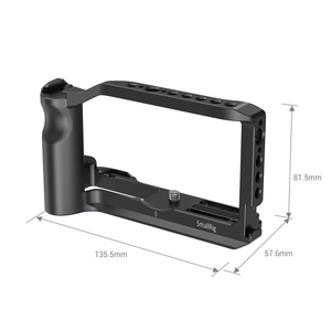 Image 5 - SmallRig Vlog Shooting Cage for Canon EOS M6 Mark II Camera Cage With Cold Shoe Mount/Integrated Handgrip /ARRI Threadings  2515
