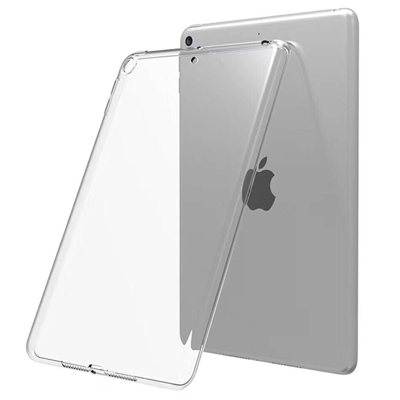 Silicone TPU Beige case For iPad 10 2 2019 2020 Cover for 7th 8th generation A2197 A2198 A2200 A2270