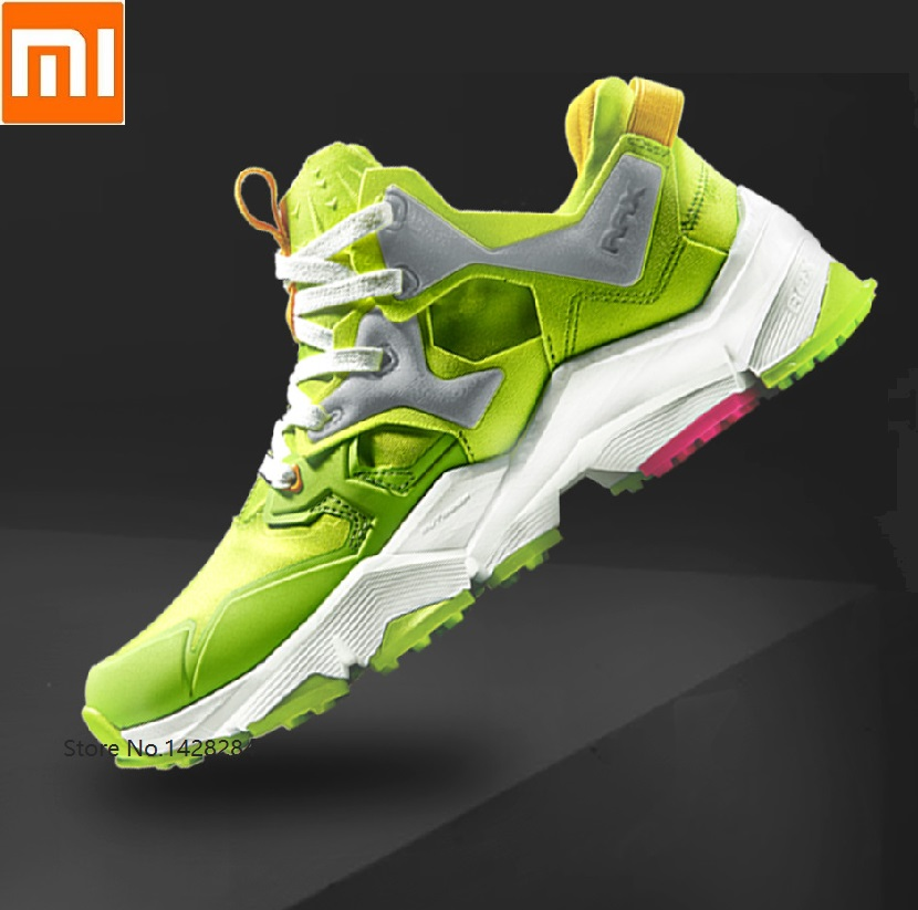 Xiaomi Rax man reflective cushioning running <font><b>shoes</b></font> <font><b>3D</b></font> shock absorption EVA Non-slip Wear resistant Outdoor athletic sneakers image