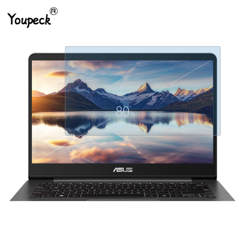 YOUPECK Universal LCD Guard Film Anti Blue Light Laptop Screen Protector For ASUS ZenBook UX430 UX430UN 14 Inch Notebook, 2PCS