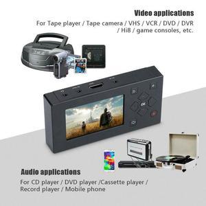 Image 2 - נייד מקליט וידאו, להקליט אנלוגי וידאו VHS, Hi8, וידאו, DVR, DVD נגן כדי digita פורמט לחסוך ב SD כרטיס ישירות, אין מחשב