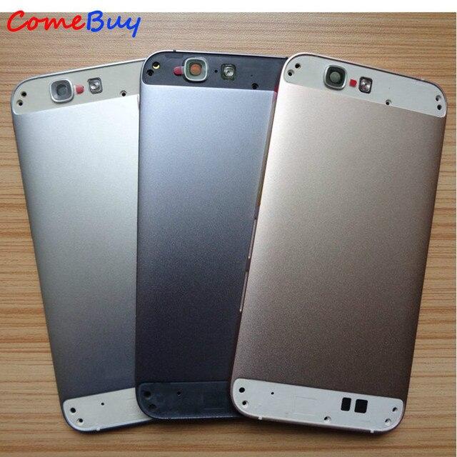 Pour Huawei G7 couvercle de batterie boîtier arrière boîtier de porte arrière pour Huawei Ascend G7 couvercle de batterie + bouton de Volume dalimentation + couvercle inférieur supérieur