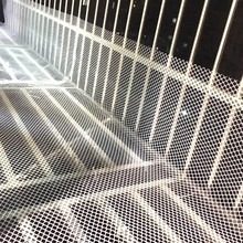 0.8/1.2/1.8cm Hole Diameter Plastic Wire Net Garden Leakproof Mesh Pad Kids Safety Balcony Railing Stairs Protection Net Tools marine bulwark ladder safety net safety net nylon rope springboard balcony stairs safety net rope 4 6m