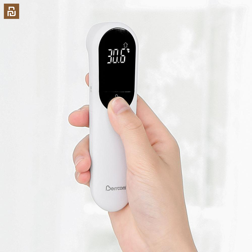 Thermometer Accurate Digital Fever Infrared Clinical Thermometer Non Contact Measurement LED Shown For Baby