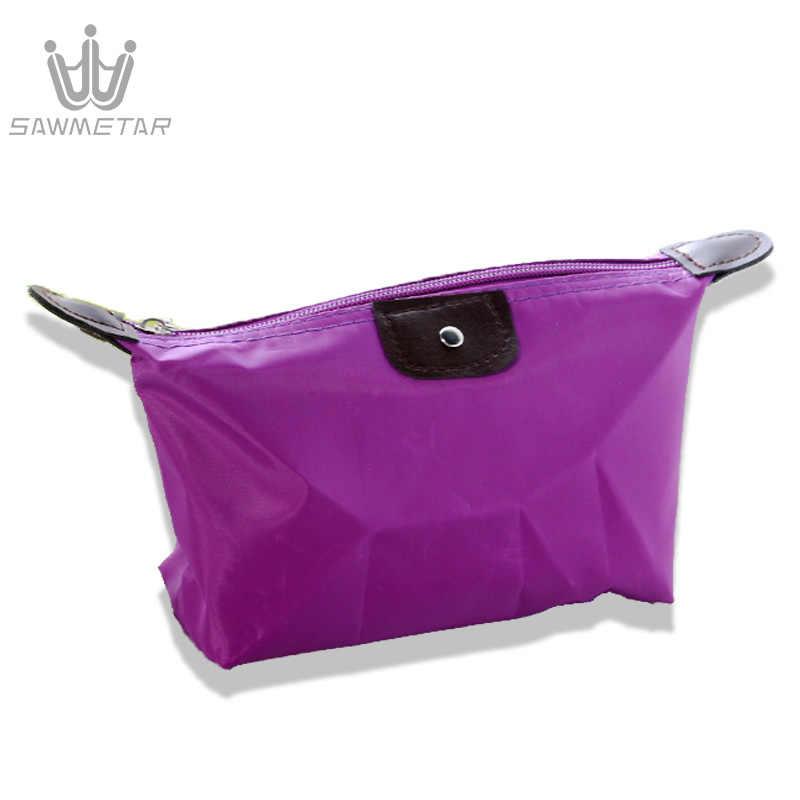 נשים נסיעות תיק קוסמטי ארנק ארגונית איפור שקיות תיק נייד מקרי נשי רוכסן קטן פאוץ יופי מוצרי טואלטיקה תיק
