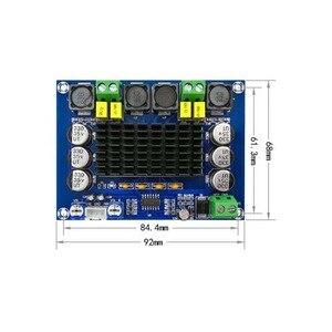 Image 4 - 120 вт * 2 TPA3116D2 двухканальный стерео аудио усилитель, плата цифрового усилителя мощности Modul 12 в 24 в TPA3116 класс D HIFI DIY