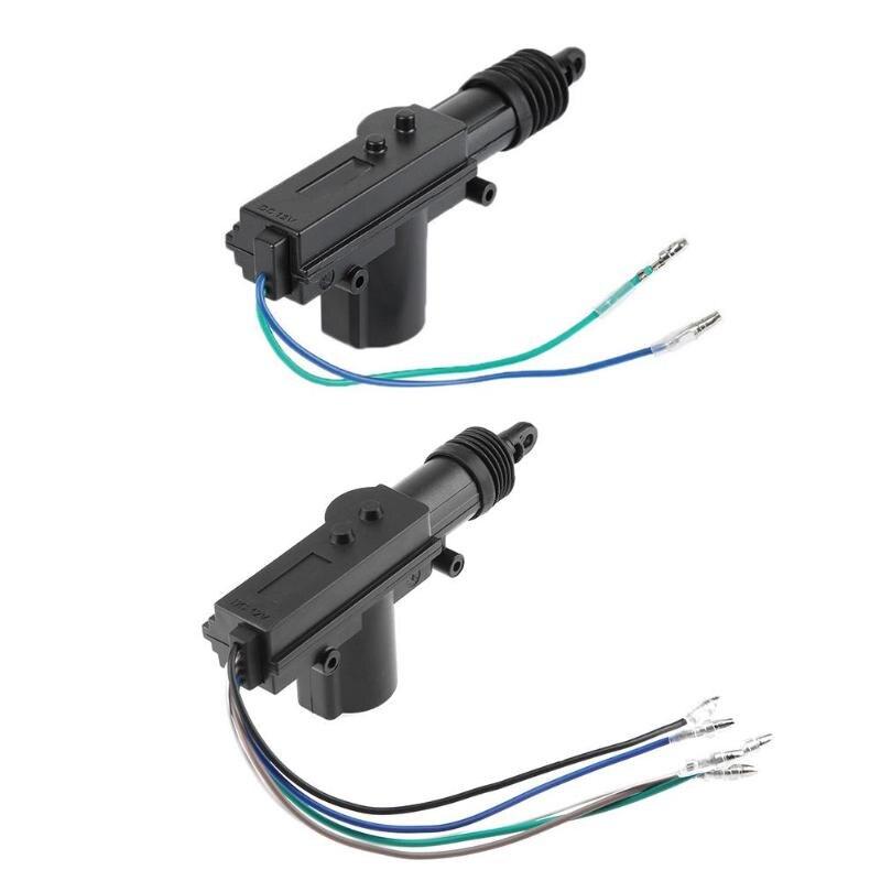 12V araba kilitleme sistemi aktüatör motor tek tabanca otomatik merkezi kilit motoru araç aksesuarları