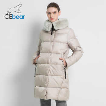 2019 New Winter Women's Jacket High Quality Rex Rabbit Fur Collar Female Coats Fashion Woman Jackets Thickened Women GWD18267 - DISCOUNT ITEM  63% OFF All Category