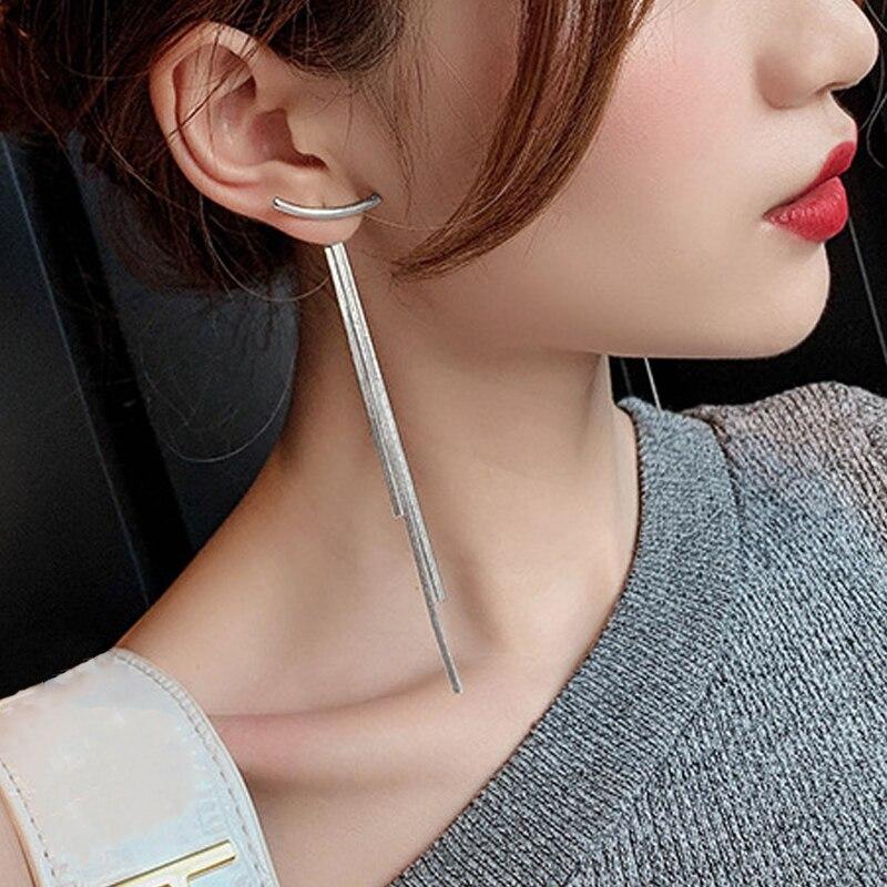 Silver Long Tassel