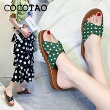 Sandals And Slippers Women Wear Summer 2020 New Half Slippers Fashion Pregnant Slippers Non-slip Tendon Bottom Women's Shoes 2020 summer cool rhinestones slippers for male gold black loafers half slippers anti slip men casual shoes flats slippers wolf