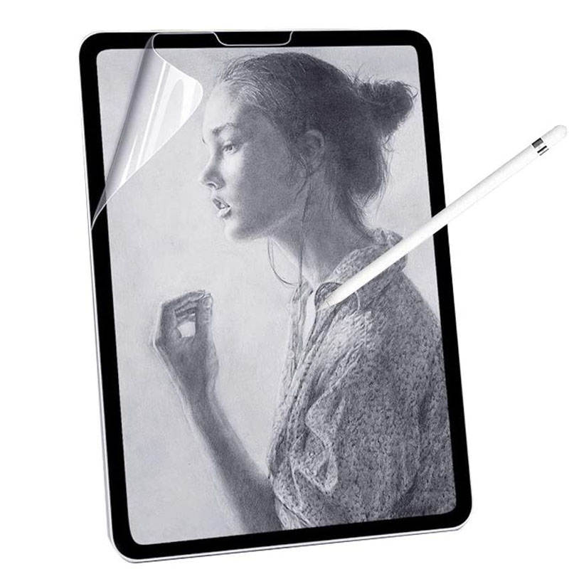 Screen-Protector-Film Paper-Like Matte Apple iPad 8th Gen 11 PET for 7th Pet-Painting-Write