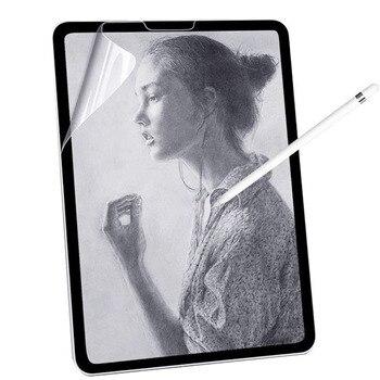 Защитная пленка для экрана в виде бумаги, матовая ПЭТ-картина для Apple iPad 9,7 Air 2 3 4 10,5 10,9 2020 Pro 11 10,2 7-го 8-го поколения