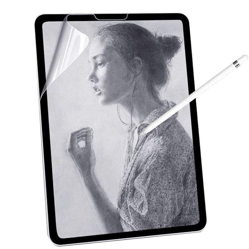 Бумага, как Защитная пленка для экрана, матовая ПЭТ картина для Apple iPad 9,7 Air 2 10,5 2020 Pro 11 10,2 7th Gen Mini 12345 пленка|Защитные экраны для планшеов|   | АлиЭкспресс
