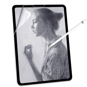 Papier jak folia ochronna na ekran matowy PET malowanie napisz do Apple iPad 9 7 Air 2 10 5 2020 Pro 11 10 2 7th Gen Mini 12345 Film tanie i dobre opinie DUNNO CN (pochodzenie) Dla Apple iPad 1 Paczka Matte Paper like Screen Protector for iPad iPad mini 123 iPad mini 45 iPad 2017 2018 9 7