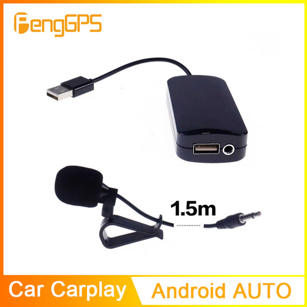 Apple Carplay Android Auto Dongle Stick Adapter Module Usb Smart Link Voor Android Autonavigatie Speler Mini Telefoon