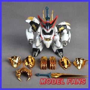 Image 1 - モデルファン INSTOCK qianshang モデル qs01 Ryuoumaru 含有 led ライト金属布アクションフィギュア玩具