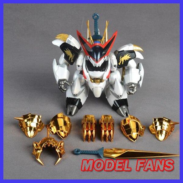 モデルファン INSTOCK qianshang モデル qs01 Ryuoumaru 含有 led ライト金属布アクションフィギュア玩具