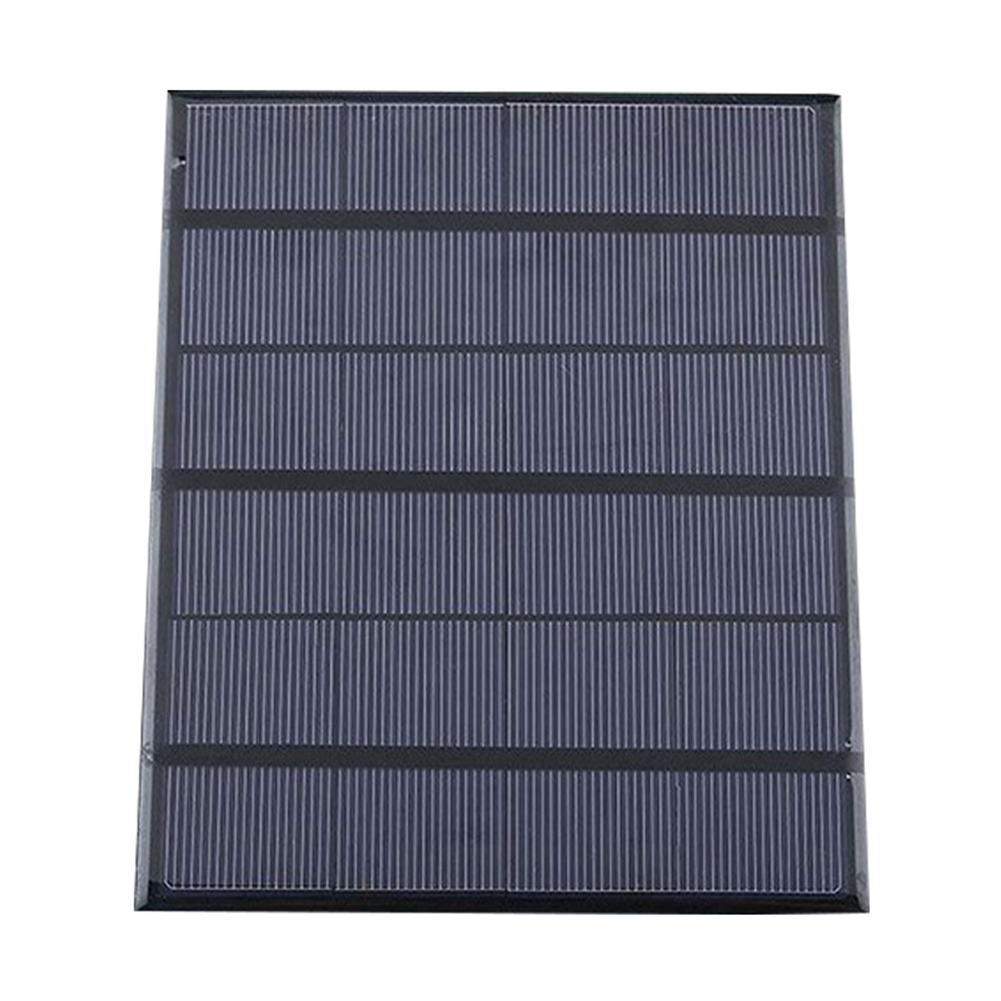 Solar Panel System Charger 3.5W 6V Charging for Mobile Phone Power Bank Camping @LS