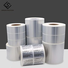 Sticker Label Thermal-Transfer-Printer Barcode Carbon-Belt Need Matte Silver Full-Resin