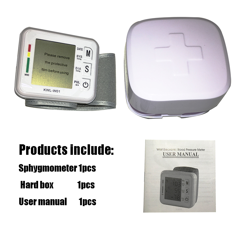 Blood Pressure Meter With Large Screen Display And Voice Playback Function 5