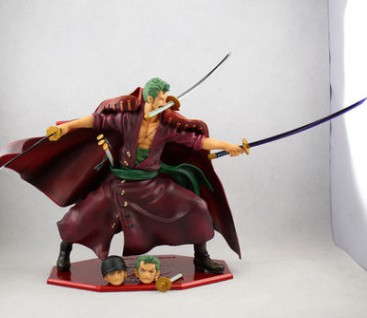 Free Shipping Anime Figure One Piece 23CM POP DX Film Z Roronoa Zoro PVC Action Figure Collection Brinquedos Toys Model B19 1