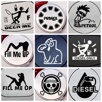 Funny Diesel Car Stickers Creative Vinyl Sticker On Car Stickers And Decals Window Sticker Car-Styling Decal creative deadpool auto stickers on the car creative vinyl sticker on car stickers and decals window sticker car styling decal