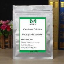 Poudre de caseinate de calcium de qualité alimentaire, compléments alimentaires de haute qualité, ao dan bai suan gai