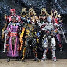 "McFarlane Toys DESTINY 7"" Iron Banner Hunter Titan Kings Fall Warlock Action Figure Model Million Blacksmith Shader Bungie Game"