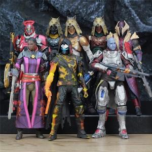 Image 1 - McFarlane jouets DESTINY, bannière en fer, 7 pouces, chasseur, Titan Kings Fall, Warlock, modèle daction Million, Blacksmith, Shader, Bungie