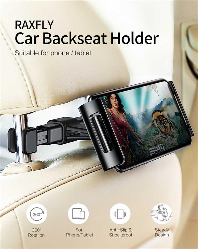 قابل للتعديل حامل هاتف المحمول سيارة المقعد الخلفي حامل ل 4-11 بوصة كمبيوتر لوحي (تابلت) وهاتف ذكي حامل حامل لباد فون X سامسونج Xiaomi