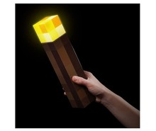 Minecrafted Original Action Figure Torch Hand Held Wall Mount Popular Redstone Ore Square Light Model Toys Minecrafted Torch