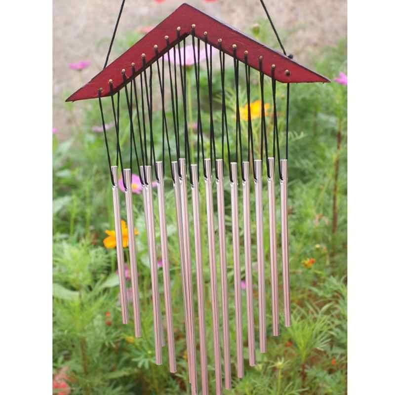 15 หลอด Windchime Yard Garden ลมลมกลางแจ้ง Chimes Decor ของขวัญ