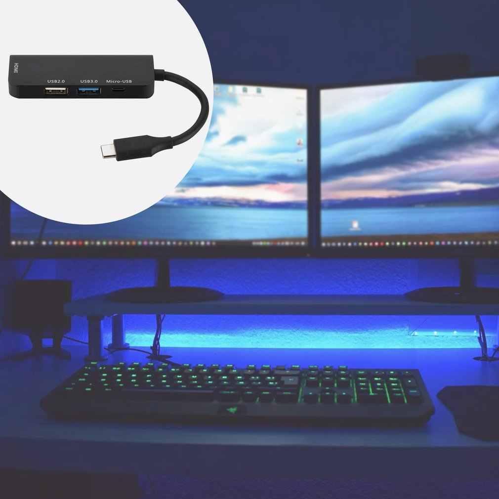 USB-концентратор Type-C, usb 3,0, Type-C, 4K