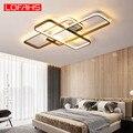 LOFAHS современный светодиодный потолочный светильник для гостиной спальни алюминиевый корпус с дистанционным управлением домашний потолоч...