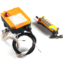 F24-8S waterproof single speed radio industrial crane electric hoist wireless remote control nice uting ce fcc industrial wireless radio double speed f21 4d remote control 1 transmitter 1 receiver for crane