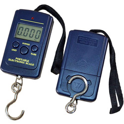 40 кг x 10 г Мини цифровые весы для рыбалки багажа Путешествия утяжеление Steelyard портативная электронная шкала подвесного крючка