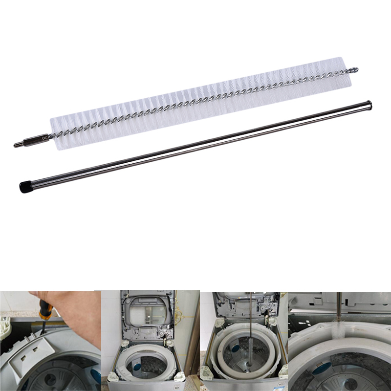 Household cleaning products Pipe Cleaning Brush For Air Conditioning Vent Gas Fire Refrigerator Cloth Dryer image