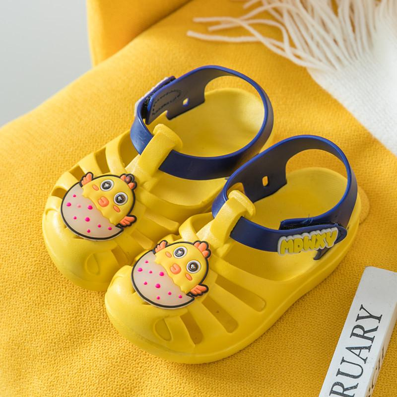 Unicorn summer toddler jelly girls shoes infant cartoon baby princess kids shoes children sandals breathable pvc flats sandal new
