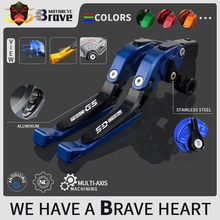 New F850 GS Logo Motorcycle Brake Handle CNC Motorcycle Clutch Brake Lever Handle High Quality For BMW F850GS F 850GS 2018 2019