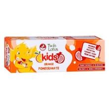 Детская зубная паста «Апельсин и Гранат» Twin Lotus, 3-10 лет, 50 г