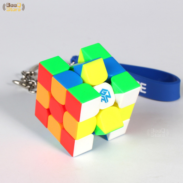 GAN330 Speed Cube 3x3x3 Keychain Cube 3x3 Cubo Magico 3x3x3 Magic Cubes GAN 330 Speedcube Cubeing Cuber Puzzle Toy 2