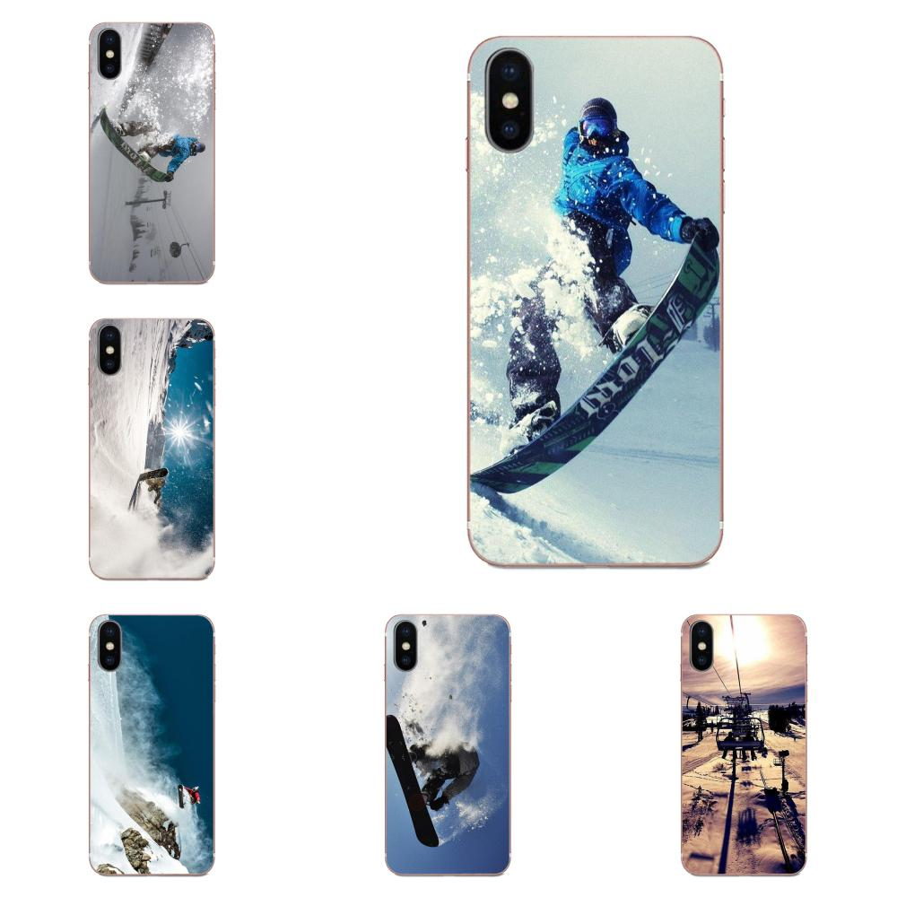 Snow Or Die Ski Snowboard Sport For Samsung Galaxy A51 A71 A81 A90 5G A91 A01 S11 S11E S20 Plus Ultra TPU Covers