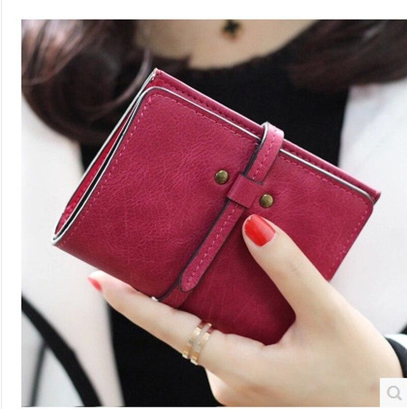 Women Wallet Slim Wallet Luxury Brand Wallets Small Purse Women Leather Pursese Top Selling Designer Wallets Moda Mujer 2018