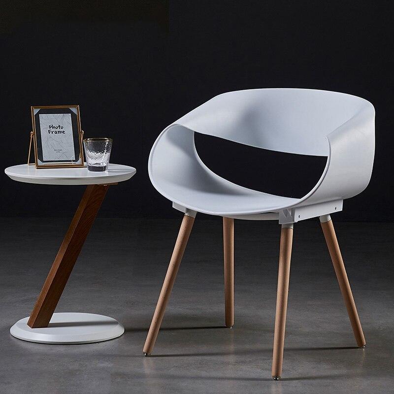 Modern minimalist Infinite Dining Chair Designer Plastic Chair Originality Office Meeting Chair Leisure Negotiate lounge