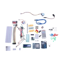 Upgraded Advanced Version Basic Starter Kit For Agoal Compatible With Arduino Uno R3|AC/DC Adapters| |  -